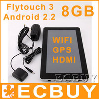 Wholesale Flytouch laptop android tablet pc G skype hdmi flash10 gps wifi RJ45 pieces