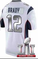 Wholesale Tom Brady Super Bowl Jerseys Well Stitch Jersey Hot Sale Brady Jerseys Name Number Embroidered Brady Uniform Vip Jerseys