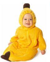 0-4years 70/95 Yellow Banana Shape Baby Sleeping Bags Baby Pajamas baby clothes baby sleeping sack 8 Pieces