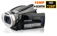 Wholesale 3 TFT Panel HD DV P Digital Video Camcorder Camera HDMI HDV8000 MP x Digital Zoom vivian