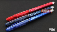 Wholesale fashion and pop Pilot Frixion Erasable Rollerball Pen BL FRP5 colors avaliable mix order