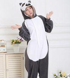 Wholesale-Novelty Animal Lemur Long Tail Monkey costume Kawaii Halloween Christmas Party Costume