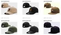 2017 swag marca CaylerSons marrón cuero Snapbacks hip hop deporte tapa sombrero de béisbol para los hombres mujeres huesos snapbacks hueso gorras de alta calidad