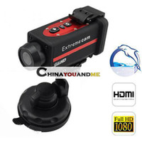 Wholesale 1 Inch camera sport camera Waterproof Extreme Sports Action Video Camera TFT Screen HD P