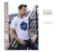 Wholesale 2017 summer self cultivation t shirt men s short sleeved men s T shirt