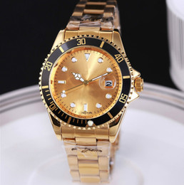 Wholesale 2017 pack post Luxury goods Diver watch Kelpy Aliexpress explosion gold watch series classic style Hymenocallis quartz watc