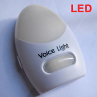 Wholesale Sound Control LED Voice Light Voice Activated Emergency Light Easily Wall Mounted FK AD