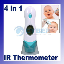 Wholesale Baby Adult in Forehead Ear Infrared IR Digital Thermometer Multi Function LCD Display