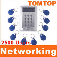 Wholesale RFID Door lock Access Controler Proximity Access Control System Key keychain card H4393