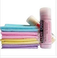 Wholesale PVA suede pet super absorbent towel PVA Auto Cache towel