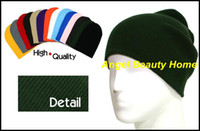 Wholesale Men s fashion hot plain hat leisure hat beanie