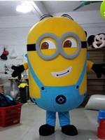 2017 Nuovo Cattivissimo Me Minion del fumetto del costume della mascotte del fumetto costumi del carattere costume della mascotte bgg