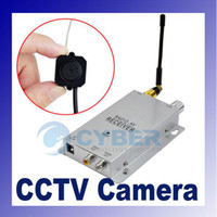 Wholesale Mini Lines Degree Wireless Hidden CCTV Security Video AV Color Pinhole Camera Cam W Antenna