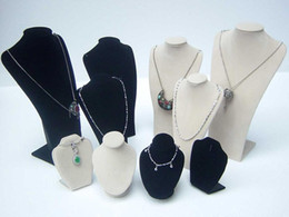 10 PCS bust Jewelry Necklace Display Stand