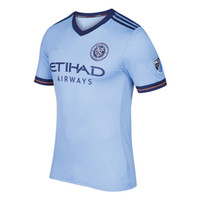 Wholesale Whosales top quality fast shipping New York City soccer jerseys Quickly reach the football shirts