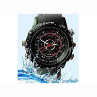Wholesale Mini DV Waterproof watch Spy camera Built in GB Memory HD VGA fps