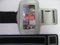 neoprene For Samsung For Christmas 100pcs lot Sport case Armband case for Samsung Galaxy S2 9100