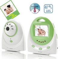 Wholesale 2 GHz inch LCD Wireless Digital Color Camera Baby Monitor with Nightvision e_shop2008