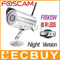 Wholesale Foscam wireless IP Camera waterproof wifi IP Network cam