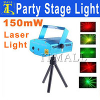 Wholesale For Christmas Moving Party Laser Stage Light mW Mini Red Green Light Dropshipping