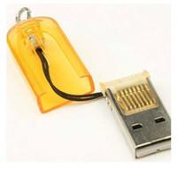 Wholesale 100pcs cheap USB MicroSD T Flash TF Memory Card Reader