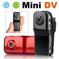 Wholesale 1pcs MINI DV DVR Video Recorder Hidden X Security Camera Camcorder MD80 With AC charger mangotech