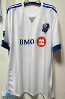 Soccer academy soccer - Whosales Discount Montreal Impact Academy Jersey New Soccer Jerseys Uniform Chandal MSL Drogba Team White Jersey Football Shirt