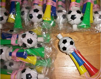 Wholesale Football horn plastic horn go celebrate fans whistling necessary horn
