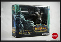 Wholesale NEW World of Warcraft LICH KING ARTHAS MENETHIL Figure WOW