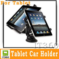 Wholesale Car Holder Suction Mount Holder Stand for Tablet Flytouch3 ZT180 Epad Ipad Ebook it360