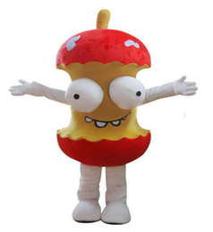Wholesale High Quality EVA Material Helmet Animated cartoon humor apple mascot costume Christmas Halloween adult clothes EMS