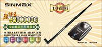USB sinmax - 1500Mw High Power RTL8187L Chipset BT6 SINMAX G USB Wireless Adapter Wifi lan card