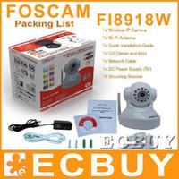 Wholesale FOSCAM FI8918W Dual Webcam IP Camera WPA Wireless WiFi Pan Tilt S65 black quot Color CMOS ECbuy