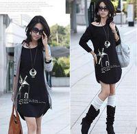 Wholesale Hot Korea Women s Casual T shirts Long Sleeve Cotton Slim T shirt Long Tops colors