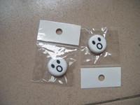 Wholesale 50 pecs White O Tennis accessories tennis vibration dampener shock absorber