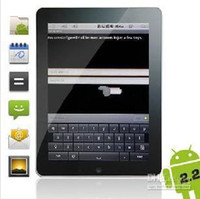 Wholesale Flytouch epad inch Andriod Tablet Cortex A8 iMX515 Webcam WIFI Flash D