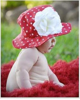 Wholesale Nice baby Sunhats children s sun caps sun hats Kids flower sunhats jamie rae hats caps with styles