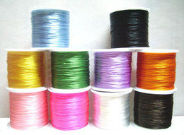 Free Shipping 5Rolls lot Stretch Elastic Beading Jewelry Cords For DIY Craft Jewelry 0.5mm WS0