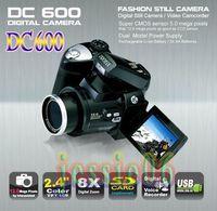 Wholesale 2 TFT Digital Video Camera Digital Camcorder DC600 Degree Rotation x Digital Zoom
