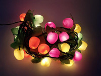 Wholesale New Year LED lantern string lights decorative lights holiday lights Christmas lights lamp glass