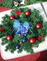 Wholesale Christmas tree garland, 50 cm diameter Christmas wr...