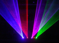 Voice-activated activated double - Double Laser series RGBP colors mw laser stage light for DJ party DJ Light Disco Light