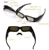 Wholesale best quality D Glasses type Active shutter glasses GBSG03 A hot item