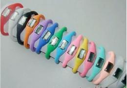 1000 pcs lot Anion Negative Ion Energy Watch Silicone Bracelet Sports Health Sport Girl Boy Watches