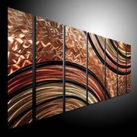 Yes metal wall art decor - Oil Painting art metal painting wall home Decor Metal Modern Abstract Art original art