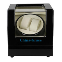 Wholesale Factory Direct Sale New Style watch winder High Quality Watch Winder Handmade Box Black Wooden W