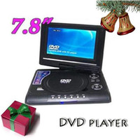 Wholesale Hot convinent portable DVD player good partner of your camping or trip inch screen