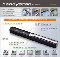 Wholesale 10pcs mini Memory Card TSN410 High resolution Handheld Scanner Scan Your Life Straight to TF