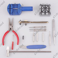 Wholesale 20 sets V100 in Tool Kit Watchmaker Tools Watch Repair Pin Remover