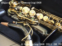 Wholesale great Non brand black Alto Saxophone